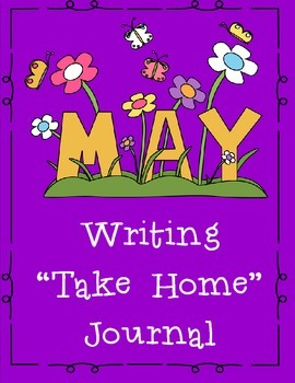 May Themed Home or Classroom Writing Journal