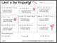Math Printables (May)