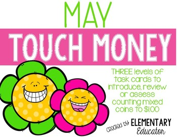 May Touch Money Task Cards