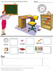 May Unit Math and Literacy Cut and Paste Printable Activities, Special Education