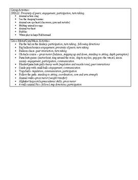 Animals Theme Unit Plan for Kindergarten/Pre K