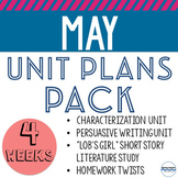 May Unit Plans and Lessons Bundle - Everything you need to teach all month long!
