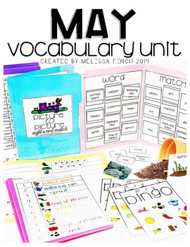 May Vocabulary Unit- for Students with Special Needs