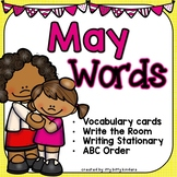 May Words - Vocabulary Cards