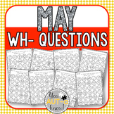 May WH- Question Dauber Pages