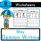 May (Weather) Opinion Writing Prompts
