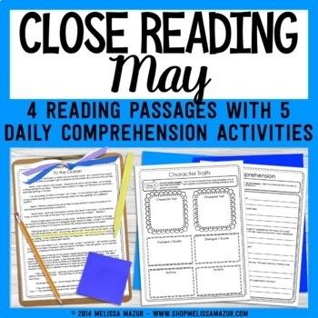 Close Reading - May
