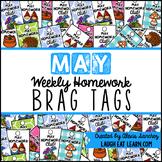 Homework Brag Tags: May