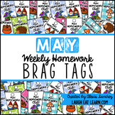 Homework Brag Tags: May