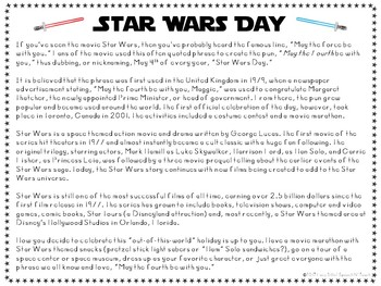 May Weird and Wacky Holidays ELA and Literacy Packet