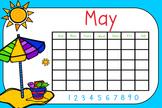 May Whole Group Math Flipchart