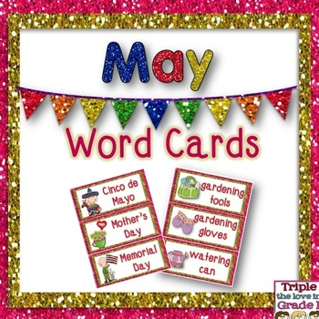 May Word Cards