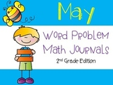 May Word Problem Journal {2nd Grade CCSS Aligned}