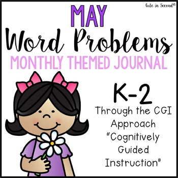 May Word Problems Journal Booklet