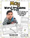 May Word Problems for Second Grade Common Core Aligned