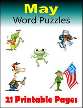May Word Puzzles