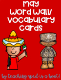 May Word Wall/Vocabulary Cards
