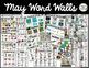 May Word Walls: Community Helpers, Spring, Zoo, Reptiles, Cinco de Mayo