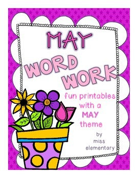 May Word Work