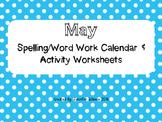 May Word Work Activities