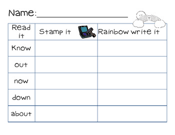Daily Word Work or Literacy Centers Pack -Common Core Aligned! (May themes)