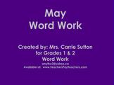 May Word Work: SMARTNotebook