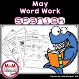 May Word Work {SPANISH}