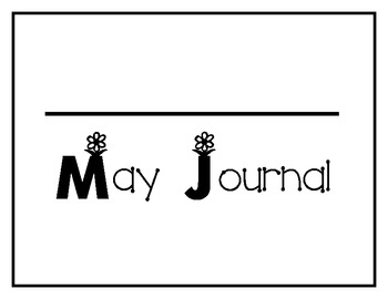 May Word of the Day Sight Word Journal