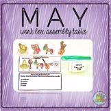 May Work Box Assembly Tasks