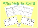 May Write the Room