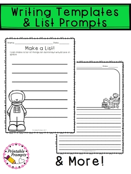 May Writing Prompts & Writing Activities