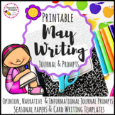 May Writing Prompts Journal