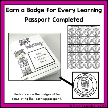 May Writing Prompts - Learning Passport