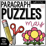 May Writing Activity: Paragraph Puzzlers