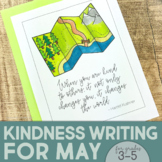 May Writing Activity | Thankful for Kindness Writing | Sum