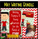 May Writing Bundle (Conversation Starters, Morning Meeting