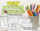 May Writing Journal and Task Cards
