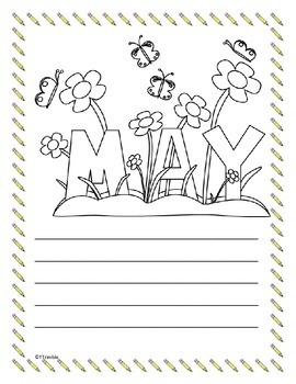 May Writing Freebie