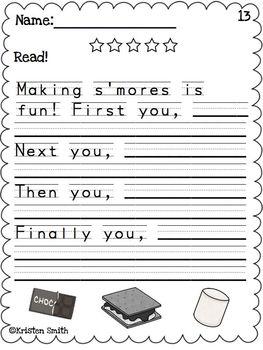 May Writing- Helping students with handwriting and writing skills!