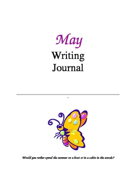 Writing Journal, May