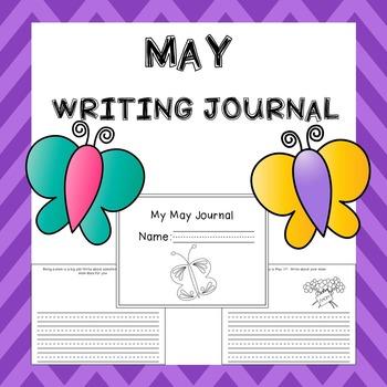 May Writing Activities / May Journal