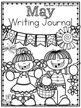 May Writing Journal {13 Fun Writing Prompts}