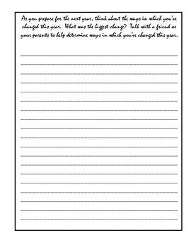 My May Writing Journal