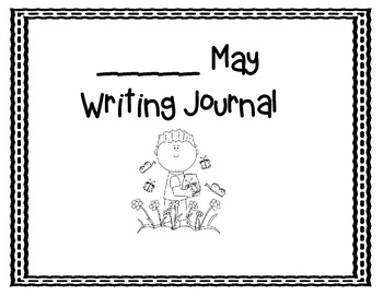 May Writing Journals