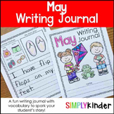 May Writing Journals, Writing Journals, Monthly Writing Journals, May Printables