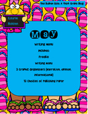 May Writing Menu with Graphic Organizers & Publishing Paper! Freebie Inc.!