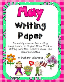 May Writing Paper