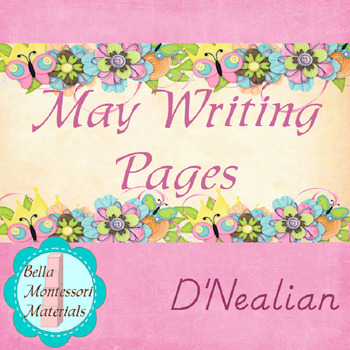 May Writing Practice Booklet - D'Nealian