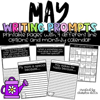 May Writing Prompt Printables
