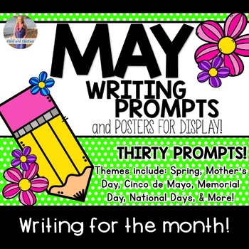 May Writing Prompts *30 prompts!*